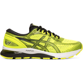 asics Gel-Nimbus 21 Schoenen Heren, safety yellow/black